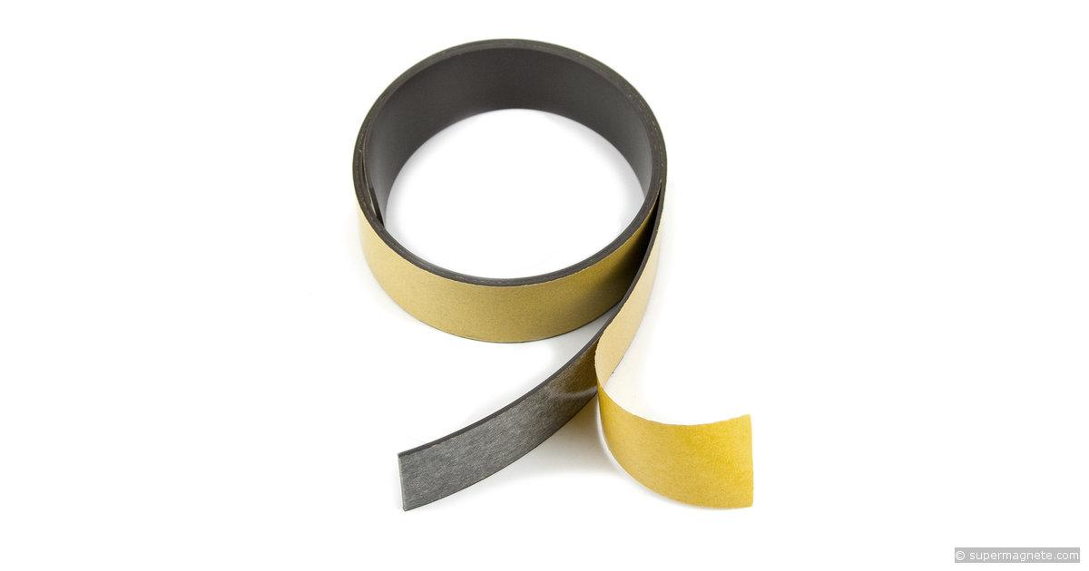 ruban magn tique bande magn tique autocollante largeur 30 mm. Black Bedroom Furniture Sets. Home Design Ideas