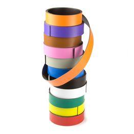 Cinta magnética de colores 20 mm para rotular y cortar, rollos de 1 m