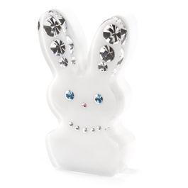 Diamond Rabbit fridge magnet Rabbit, with Swarovski crystals