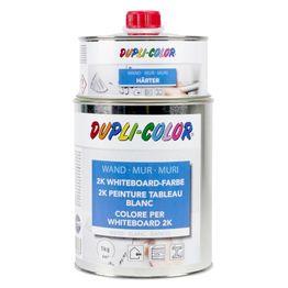 Whiteboardverf L 1 liter voor een oppervlakte van 6 m², wit of transparant, niet magnetisch!