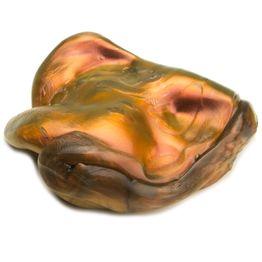 Intelligent putty 'Super-Lava' soort 'Flip-Flop', oranje-goud-zwart