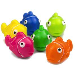 Clownvissen decoratieve magneten in de vorm van vissen, set van 6