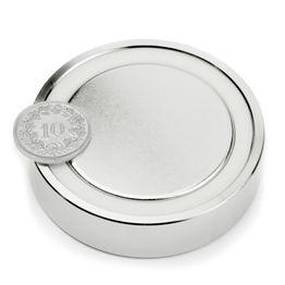 FGN-60 Glue-in pot magnet, Ø 60 mm