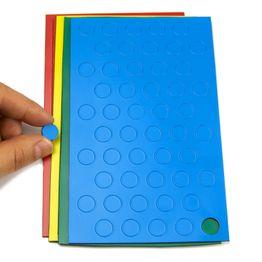 Magnetsymbole Kreis klein für Whiteboards & Planungstafeln, 50 Symbole pro Bogen, in verschiedenen Farben