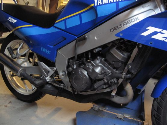 Yamaha before the modification