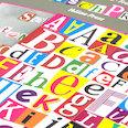 Magnetbuchstaben & Zahlen, für Mitteilungen, Fragen & mehr, über 200 Teile