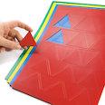 Pour tableaux blancs & tableaux de planning, 25 symboles par feuille A4, dans différentes couleurs