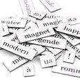 Wörter, Silben und Satzzeichen, 510 Teile, in verschiedenen Sprachen erhältlich