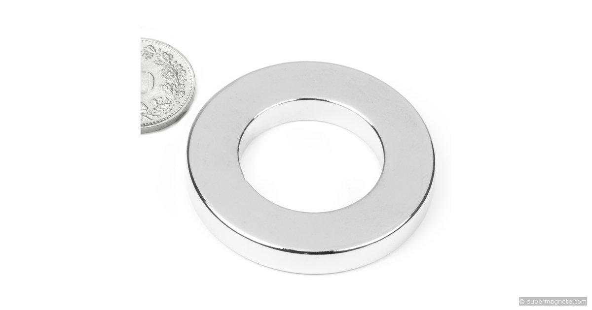 ringmagnete magnetringe magnete mit loch 40 x 23 x 6 mm r 40 23 06 n supermagnete. Black Bedroom Furniture Sets. Home Design Ideas