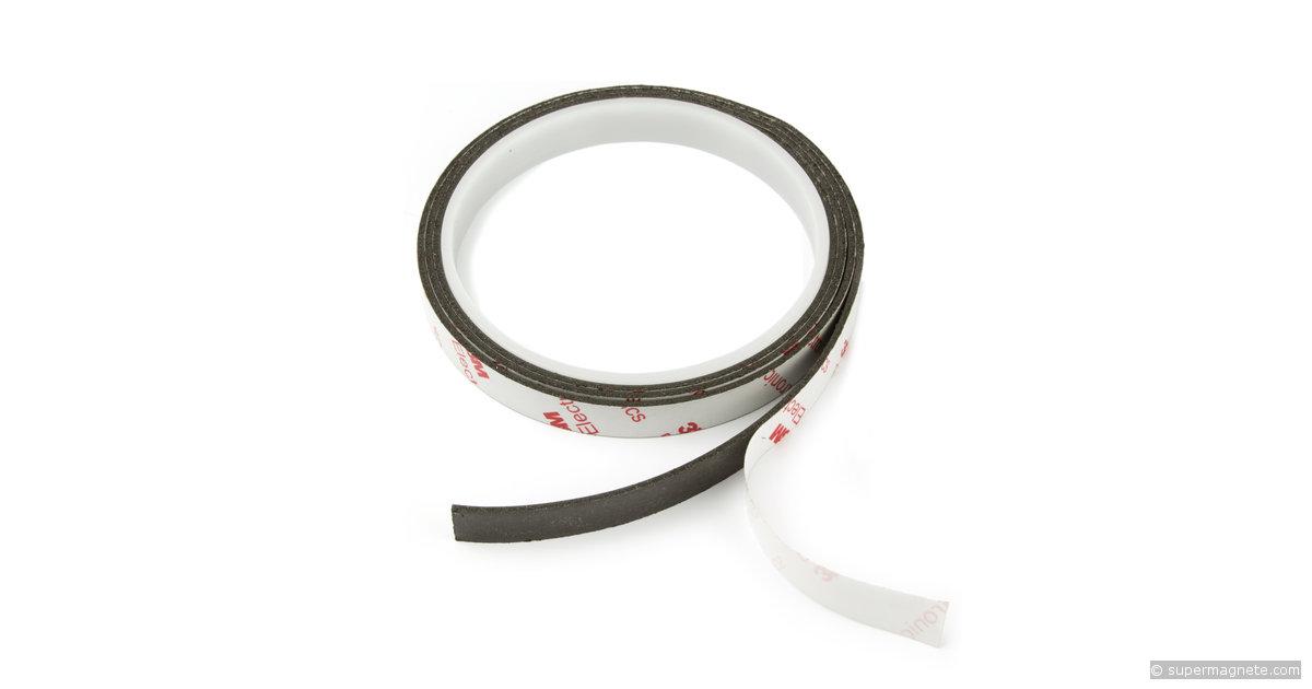 bande magn tique autocollante 10 mm extra forte supermagnete. Black Bedroom Furniture Sets. Home Design Ideas