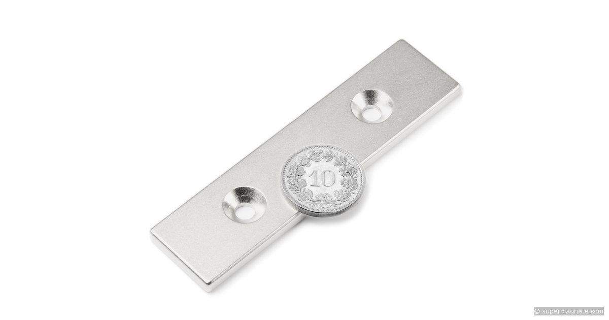 quadermagnet 80 x 20 x 4 mm neodym magnete supermagnete. Black Bedroom Furniture Sets. Home Design Ideas