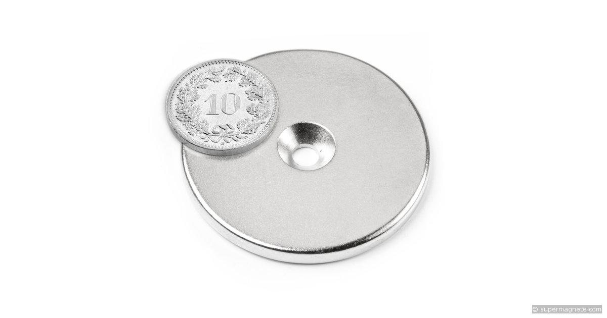 scheibenmagnet 42 mm h he 4 mm neodym magnete. Black Bedroom Furniture Sets. Home Design Ideas