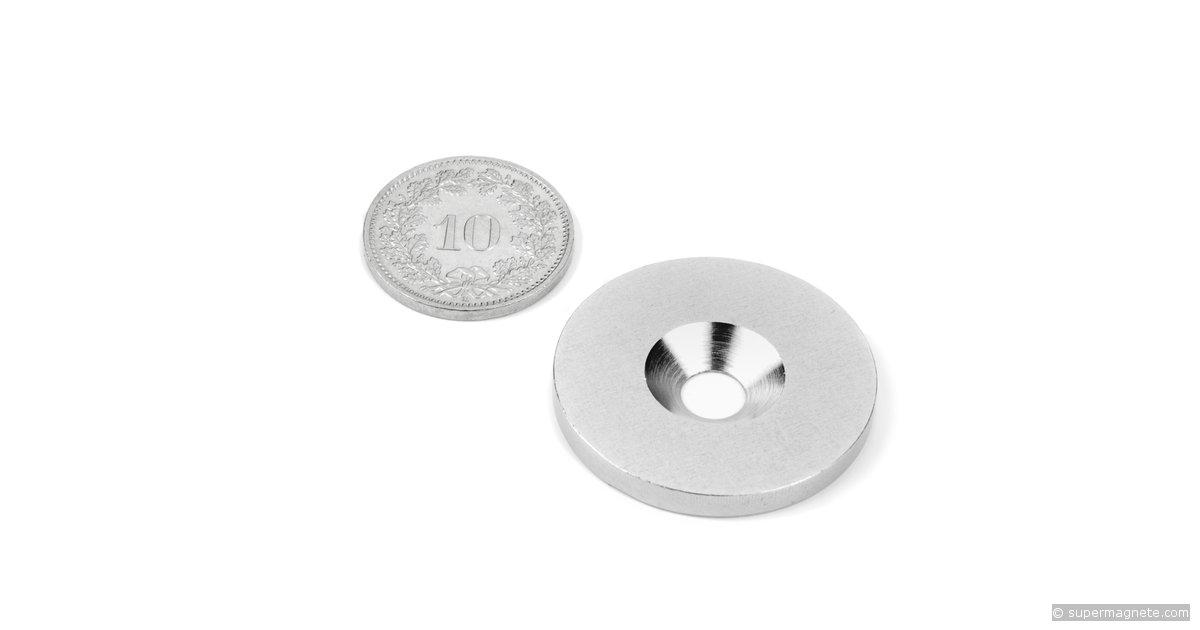 metallscheibe gegenst ck f r magnete d 27 mm supermagnete. Black Bedroom Furniture Sets. Home Design Ideas