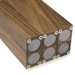 magnet messerblock aus holz supermagnete. Black Bedroom Furniture Sets. Home Design Ideas