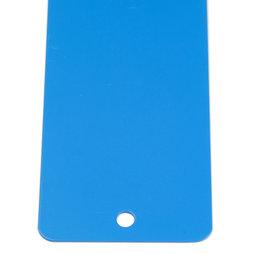 MB-16/blue, Magneetstrip blauw 35 cm, hechtondergrond voor magneten, om te schroeven, incl. 6 sterke magneten