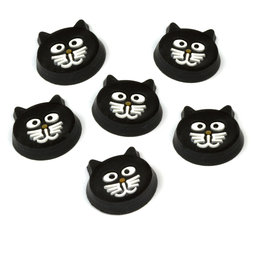 LIV-81, Kitty Cat, cat-shaped fridge magnets, set of 6