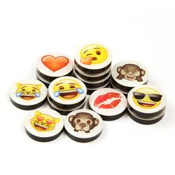 LIV-82, Emoji, decomagneten met symbolen, set van 4