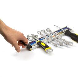 WS-MTH-03, Porte-outils magnétique, avec poignée, barre magnétique, porte-outils avec face arrière magnétique