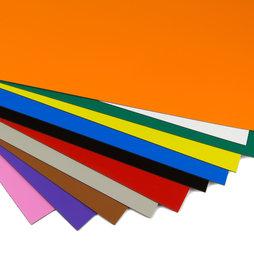 MS-A4, Feuille magnétique couleur, pour étiquetage et loisirs créatifs, format A4