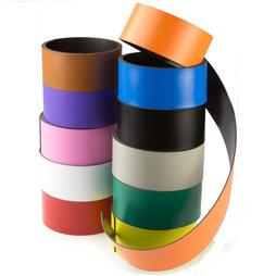 MT-40, Gekleurd magneetband 40 mm, om zelf te beschrijven en op maat te knippen, rollen à 1 m