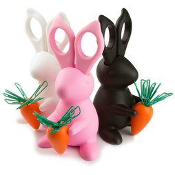 M-66, Desk Bunny porte-ciseaux, avec compartiment pour ciseaux & trombones