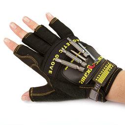 WS-FMG-M, Handschuh magnetisch M, für Nägel, Schrauben, Bits etc., Grösse M