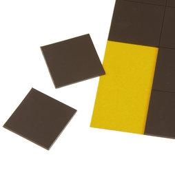 MS-TAKKI-02, Takkis 30 x 30 mm, zelfklevende magneetplaatjes, 20 plaatjes per vel