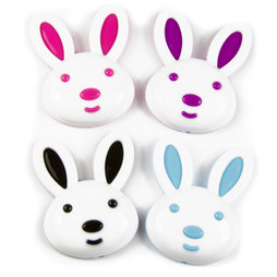 SALE-089, Bunny, fridge magnets in bunny shape, set of 4