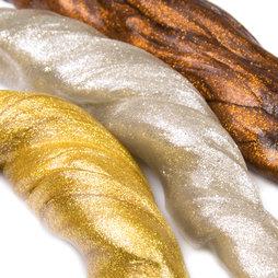 M-PUTTY-METALLIC, Intelligente putty Metallic, metallisch glanzend, verschillende kleuren, niet magnetisch!