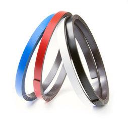 MT-07, Farbiges Magnetband 7 mm, zum selber Beschriften und Zuschneiden, Rollen à 1 m
