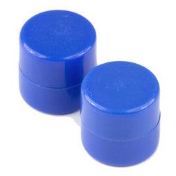 M-DISC-01/blue, Disque magnétique avec enveloppe en matière synthétique, lot de 10 pcs., bleu