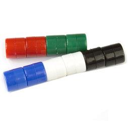 M-DISC-01/mixed1, Disque magnétique avec enveloppe en matière synthétique, lot de 10 pcs., couleurs assorties