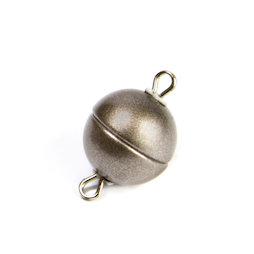 SV-ES-08, Sieraadsluiting magnetisch rond klein, voor kettingen / armbanden, Ø 8 mm
