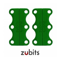 M-ZUB-02/green, Zubits® M, magnetische Schuhbinder, für Jugendliche & Erwachsene, grün