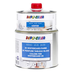 M-WP-500/clear, Vernice per lavagna bianca S 500 ml, per una superficie di 3 m², trasparente, non magnetica!