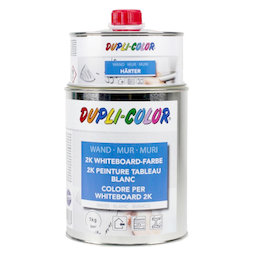 M-WP-1000, Whiteboard paint L 1litre, white or transparent, for an area of 6 m², not magnetic!