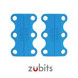 M-ZUB-01/sky, Zubits® S, magnetische Schuhbinder, für Kinder & Senioren, hellblau