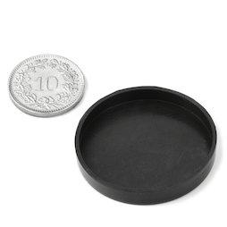 PAR-33, Rubber kapjes Ø 33 mm, ter bescherming van oppervlakken