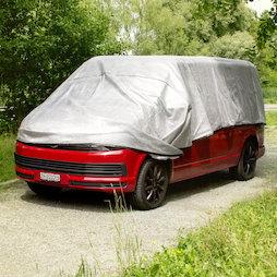 M-ALU-0406, Alunet Schattennetz 80% XL, Sonnenschutz für Auto und Garten, 4 x 6 m