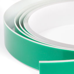 M-FERROTAPE, Metaalband zelfklevend wit, zelfklevende hechtoppervlak voor magneten, rollen à 1 m / 5 m / 25 m