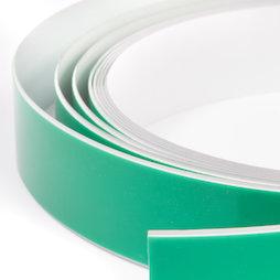 M-FERROTAPE, Cinta metálica adhesiva blanca, base adhesiva para imanes, rollos de 1 m / 5 m / 25 m
