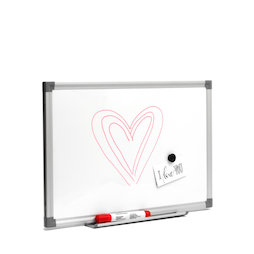 MWB-3045, Whiteboard 30 x 45 cm, magnetic, writable with chalk markers