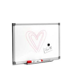 MWB-3045, Pizarra blanca 30 x 45 cm, magnética, para escribir con rotuladores de pizarra