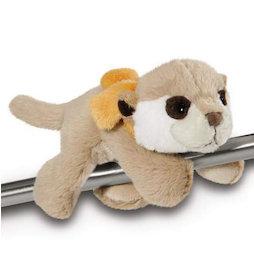 LIV-123/meerkat, MagNICI peluches magnétiques, suricate Meerkat, avec des aimants dans ses pattes