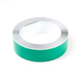M-FERROTAPE/5m, Metallband selbstklebend weiss, selbstklebender Haftgrund für Magnete, Breite 35 mm, Rolle à 5 m
