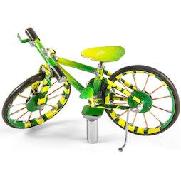 MCAR-01/bicycle, MadagasCAR, Mini-Fahrzeuge aus alten Blechdosen, Fahrrad