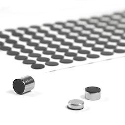 M-SIL-10, Disques en silicone Ø 10 mm, autocollants, lot de 136