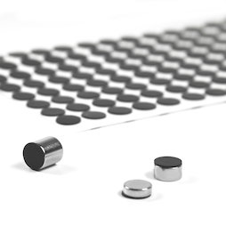 M-SIL-10, Siliconschijfjes Ø 10 mm, zelfklevend, 136 stuks per set