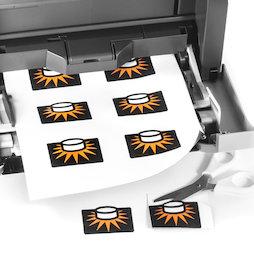 MIP-A4-02, Magneetpapier mat, om te bedrukken, A4-formaat, set van 10