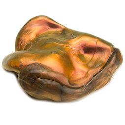 M-PUTTY-IRIS/lava, Intelligent putty 'Super-Lava', soort 'Flip-Flop', oranje-goud-zwart